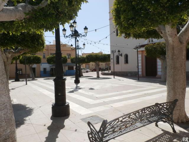 Plaza de la Iglesia - Benahadux