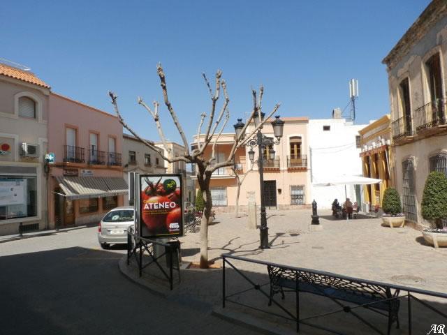 Plaza de los Decididos de Alhama de Granada