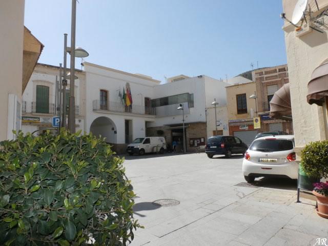 Plaza del Ayuntamiento de Alhama de Granada