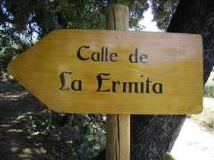Ermita de la Inmaculada de la Viña en Algarinejo