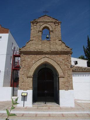 Ermita del Santo Cristo de Algarinejo, monumento religioso en el municipio de Algarinejo, Granada