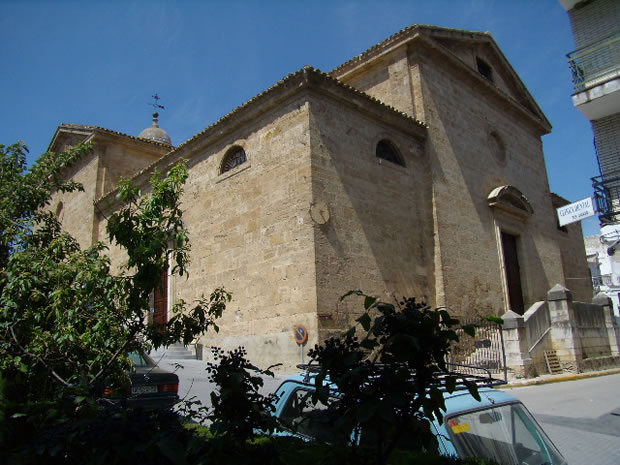Iglesia Santa María La Mayor, monumento religioso en Algarinejo
