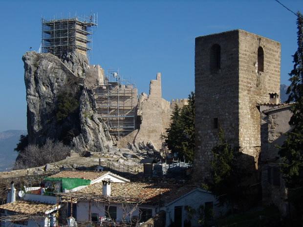 Panorámica del Castillo de la Iruela, Jaén