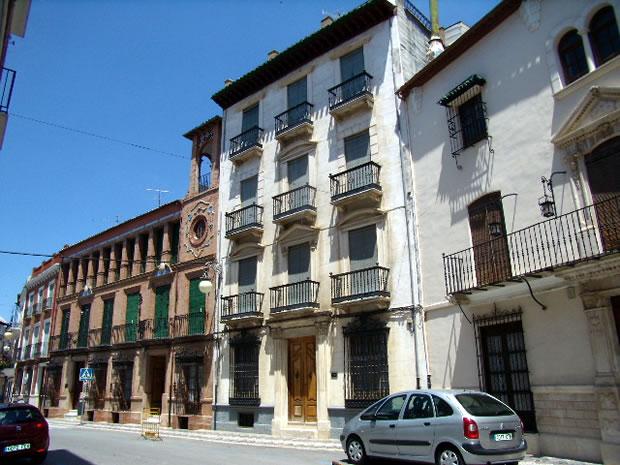Calle del Río en Priego de Córdoba