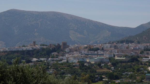 Panorámica del pueblo cordobés de Priego de Córdoba, Andalucía