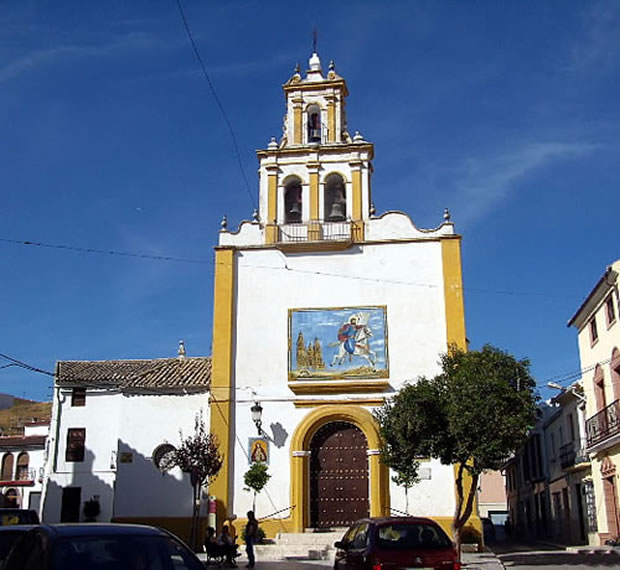 Parroquia de Santiago, monumento religioso en Puente Genil