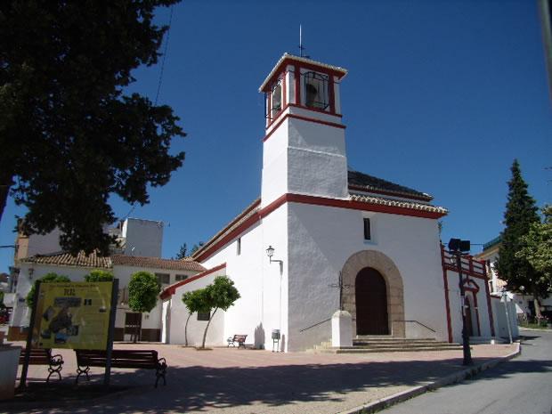Foto de la Iglesia Parroquial de Nuestra Señora de la Aurora de Villanueva Mesía tomada el 1 de Junio de 2013