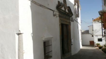 Antigua Casa - Palacio de los Marqueses de Torresoto, Arcos de la Frontera. Old House - Palace of the Marquises de Torresoto