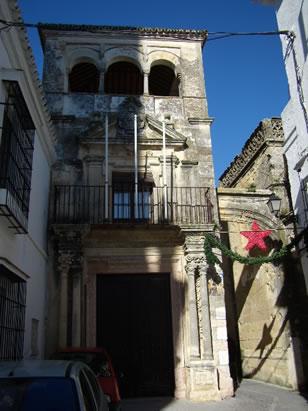 Palacio del Mayorazgo. Fue construido en el S. XVII.