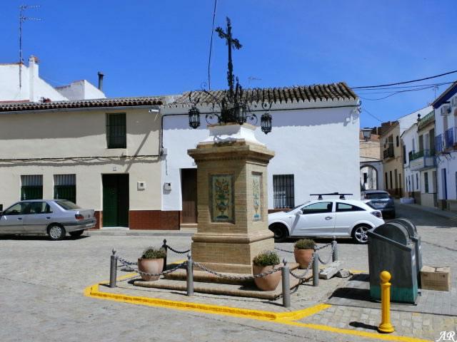 Cruz en la Plaza de Navarrete - Aznalcázar