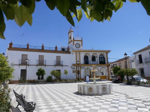 Plaza del Cabildo de Aznalcázar