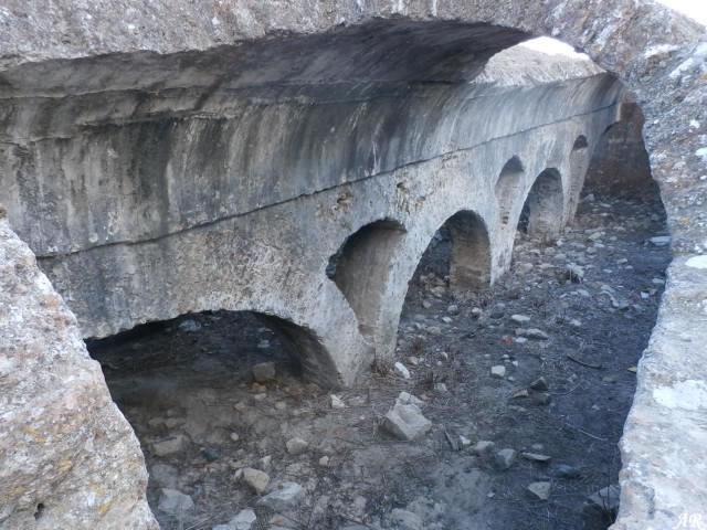 Aljibe del Castillo de Jimena de la Frontera
