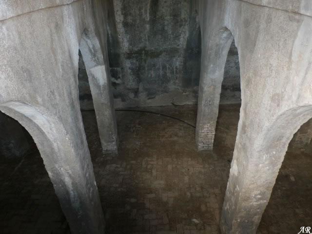 Castillo de Jimena de la Frontera, aljibe siglo XV
