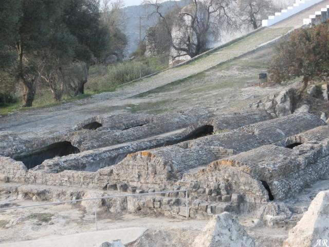 Aljibe Almohade del Castillo de Jimena de la Frontera