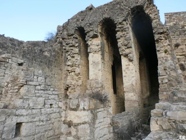 Bóvedas de Cañón del Templo Romano