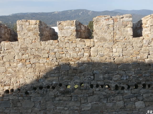 Muralla del Castillo de Jimena de la Frontera