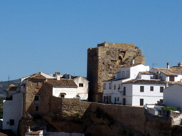 Setenil de las Bodegas Castle
