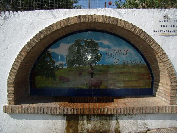 Fuente de El Santo y La Caja