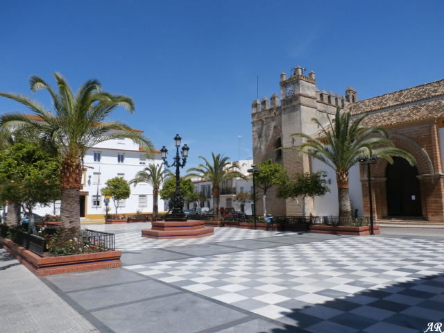 Hinojos - Plaza de España