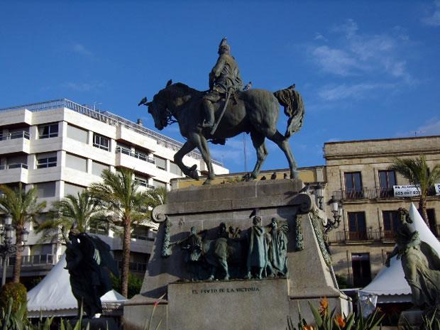Plaza del Arenal de Jerez de la Frontera