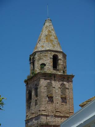 Campanario de la Iglesia de la Victoria en Medina Sidonia