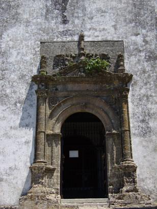 Iglesia Parroquial Matriz de Santa María La Mayor La Coronada portada lateral