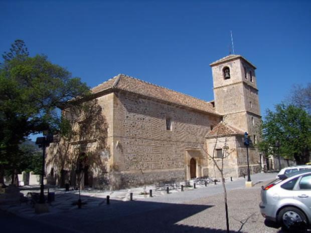 Melegís, Iglesia de San Juan Evangelista