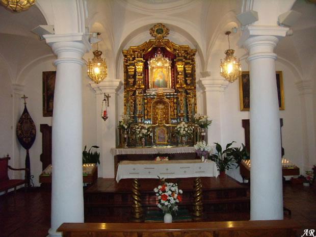 Ermita Mezquita de la Virgen de Gracia en Archidona, Parque Periurbano Sierra de Gracia de la localidad de Archidona