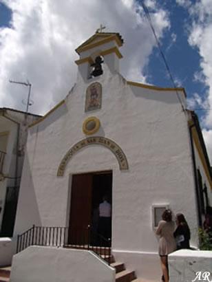 Parroquia de San Juan de Dios, Cañada del Real Tesoro - Cortes de la Frontera - Valle del Guadiaro, monumento religioso en la Cañada del Real Tesoro