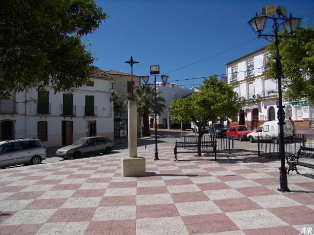 El Saucejo, Plaza Cardenal Spinola,
