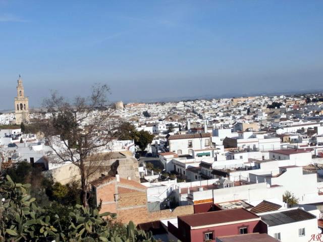 Panorámica de Lebrija desde la Ermita de Nuestra Señora del Castillo