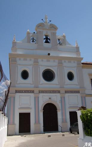 Iglesia Santuario de María Auxiliadora en la Ciudad Soñada, Ronda, Ciudad del Tajo