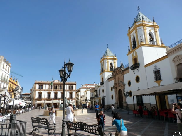 Socorro Square, Casino and the Socorro Church