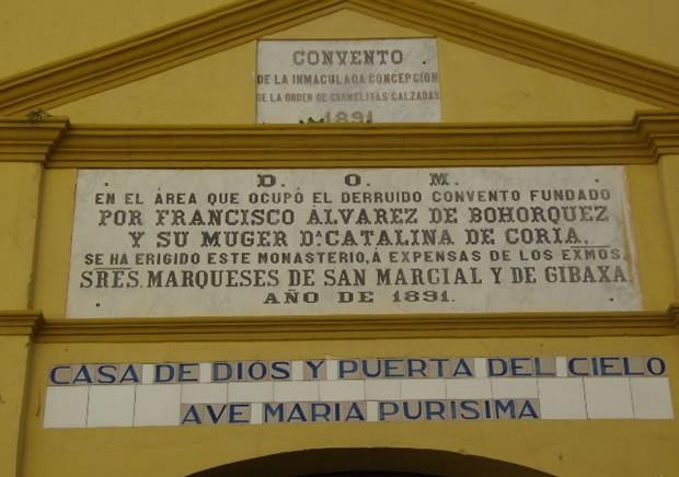Convento de la Purísima Concepción de Utrera