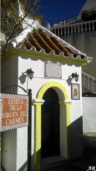 Ermita de la Virgen del Carmen de Canillas de Aceituno.