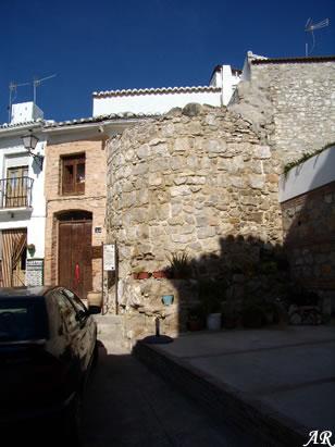 Torreón de María Sagredo (S.XV). Patrimonio Cultural de Alozaina