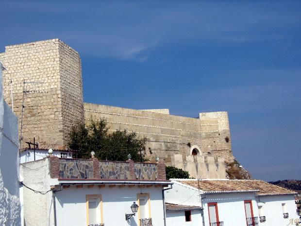Castillo Hins Qannit - Castillo de Cañete la Real