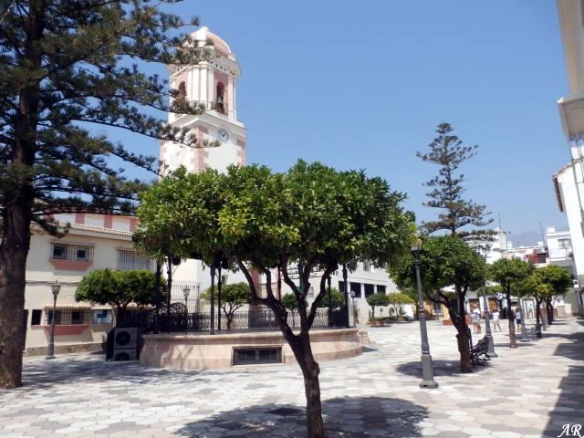 Plaza del Reloj Estepona