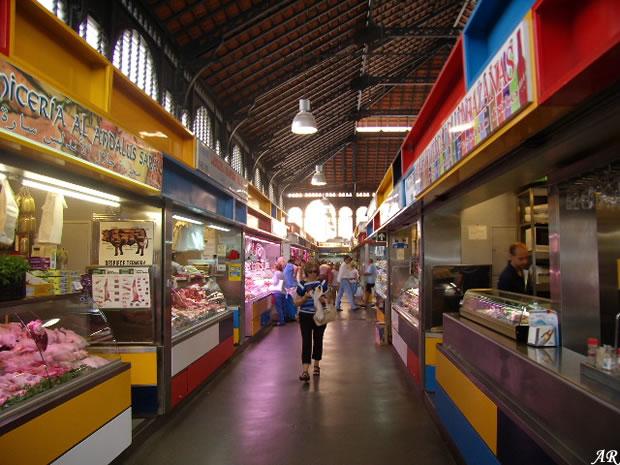 Mercado de Atarazanas, mercado de abastos de Málaga