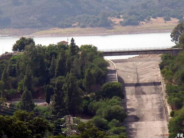 Presa de Guadarranque - Embalse de Guadarranque - Pantano de Guadarranque