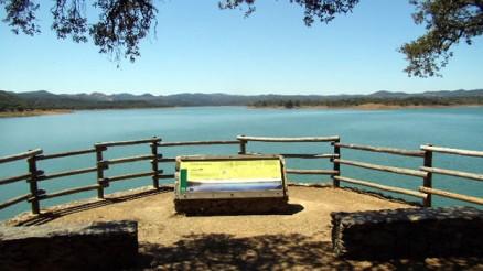 Mirador del Embalse del Retortillo - Pantano del Retortillo - Embalse del Retortillo - La Puebla de los Infantes