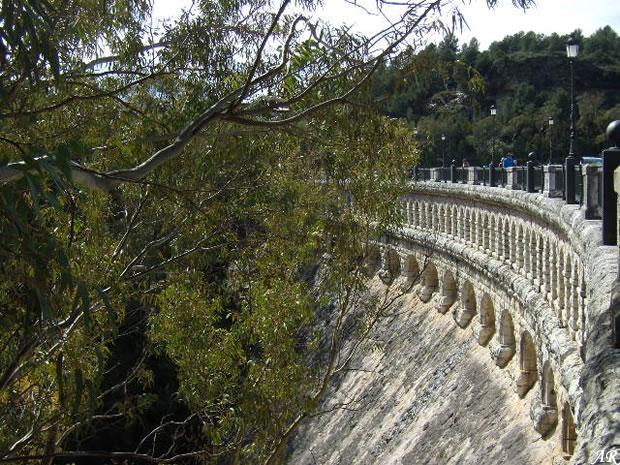 Conde de Guadalhorce Dam & Reservoir - Ardales