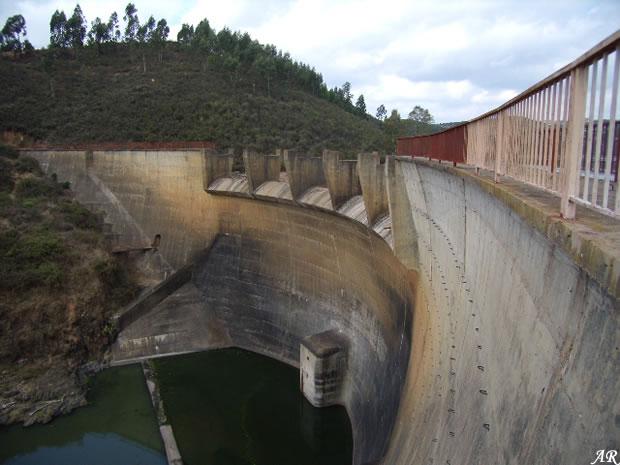 Presa Cueva de la Mora - Embalse Cueva de la Mora - Pantano Cueva de la Mora - Almonaster la Real - Huelva