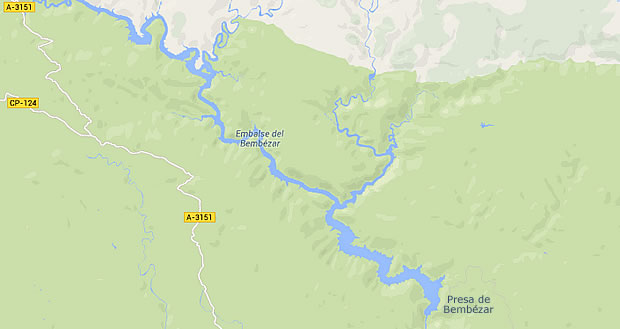 Presa de Bembézar - Embalse del Bembézar - Pantano de Bembézar - Hornachuelos