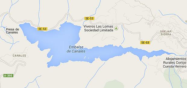 Canales Dam - Reservoir - Güejar Sierra