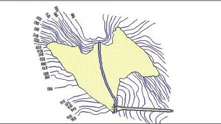 Embalse de Canales - Presa de Canales - Pantano de Canales - Güejar Sierra
