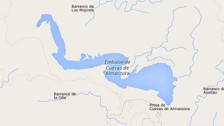 Presa de Cuevas de Almanzora - Embalse de Cuevas de Almanzora - Pantano de Cuevas de Almanzora