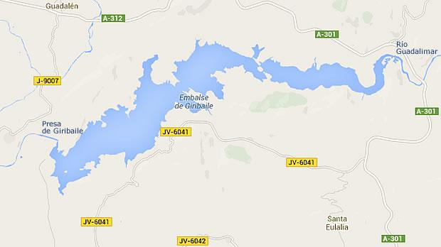 Presa de Giribaile - Embalse de Giribaile - Pantano de Giribaile - Ibros - Jaén