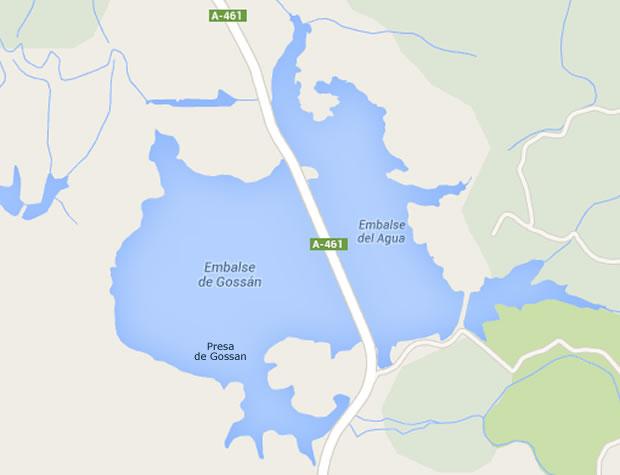 Presa de Gossan - Embalse de Gossan - Pantano de Gossan - Minas de Riotinto - Huelva
