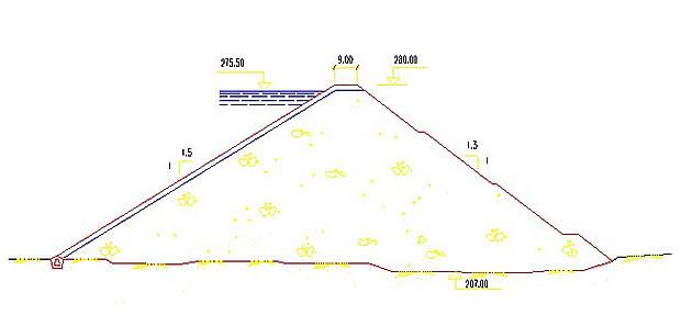 Presa de Huesna - Pantano de Huesna - Embalse de Huesna. De uso exclusivo para abastecimiento humano, el agua que almacena es de primer uso, dada la cercanía al nacimiento del río. Del total de agua que almacena, el Consorcio tiene asignados por el Plan Hidrológico de la Cuenca del Guadalquivir 30,2 hm3.